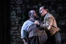 Cilea: L'Arlesiana - Keel Watson, Simon Wilding - Opera Holland Park 2019 (Photo Ali Wright)