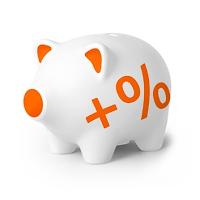 Świnka skarbonka Otwarte Konto Oszczędnościowe OKO Bonus 2,5%
