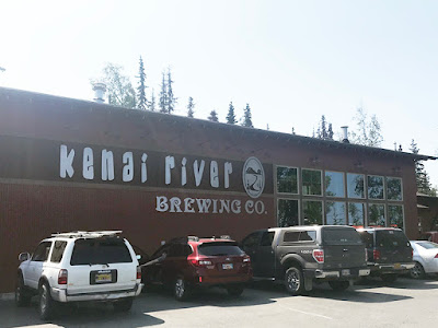 Kenai River Brewing Co is Always Very Busy (Soldotna, Alaska)