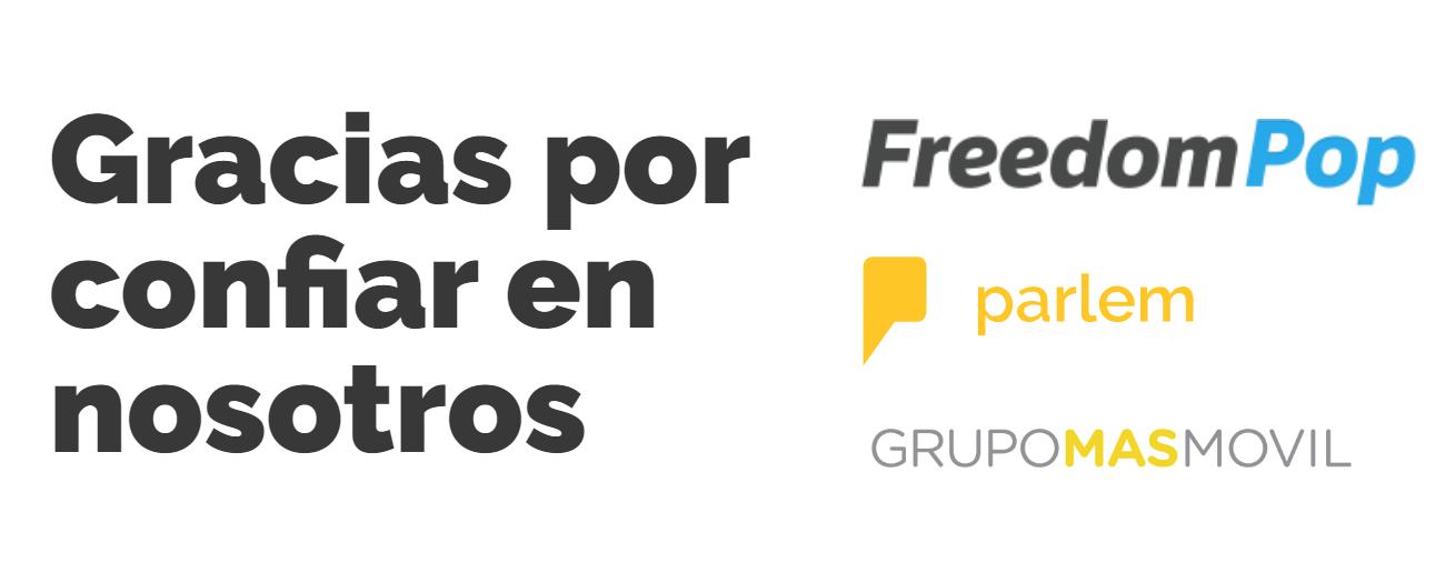 Freedompop abandona el mercado móvil y sus clientes pasarán a ser Parlem