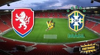 Чехия – Бразилия смотреть онлайн бесплатно 26 марта 2019 прямая трансляция в 22:45 МСК.