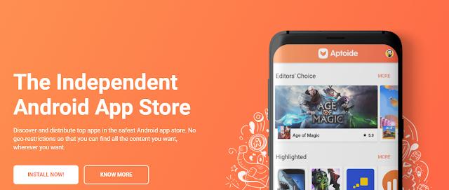 Aplikasi Android Mirip Google Playstore