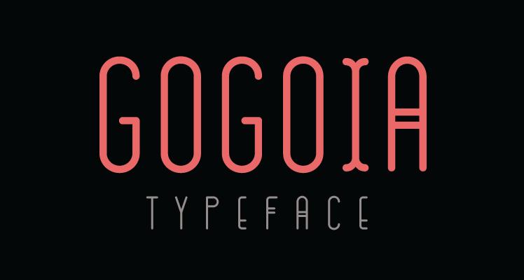Gogoia free font preview