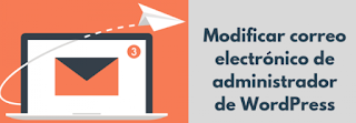 Cambiar la dirección de correo electrónico del administrador sin confirmación