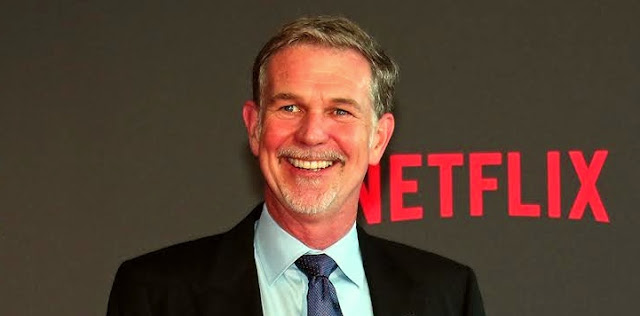 Netflix shares plunge after comments by CEO
