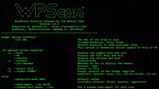 What is WPScan?