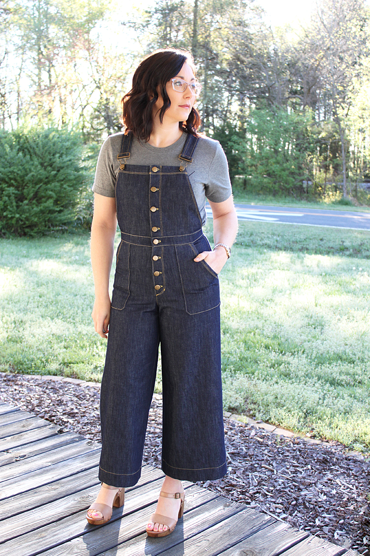 Jenny Overall // Sewing For Women