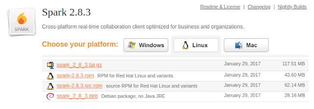 Fazendo o Download do Spark para Linux