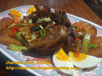 Braised Pork Spareribs with Pineapple