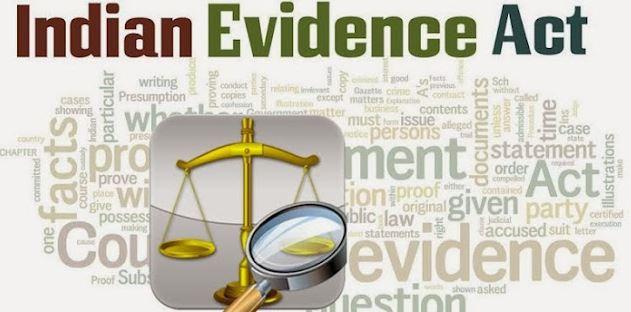 Evidence Act 1872 Pdf