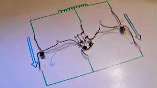 Cara membuat inverter dari 12 volt ke 230 volt !!! skema inverter,2015