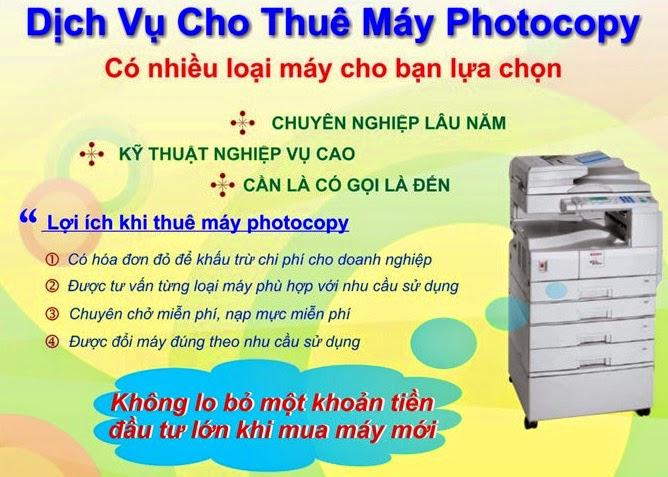 Cho thuê máy photocopy tại Biên Hòa - Đồng Nai