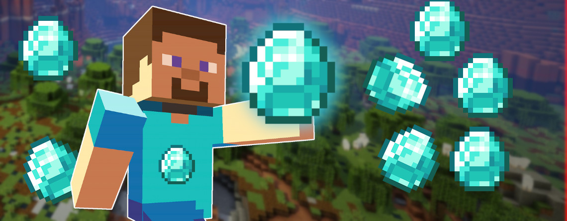 Minecraft Guide: Finding Diamonds - This is the fastest way to farm