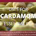 Uses for Cardamom Essential Oil #infographic
