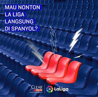 Promo Clear Men Berhadiah 4 Tiket Nonton La Liga Spanyol