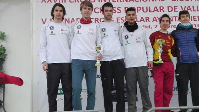 CA Teleno, promesa masculino, logra el bronce del Regional de Cross 2016