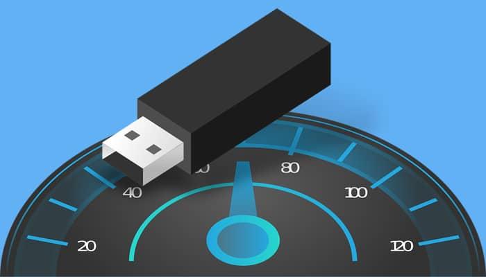 cara mengukur kecepatan flashdisk