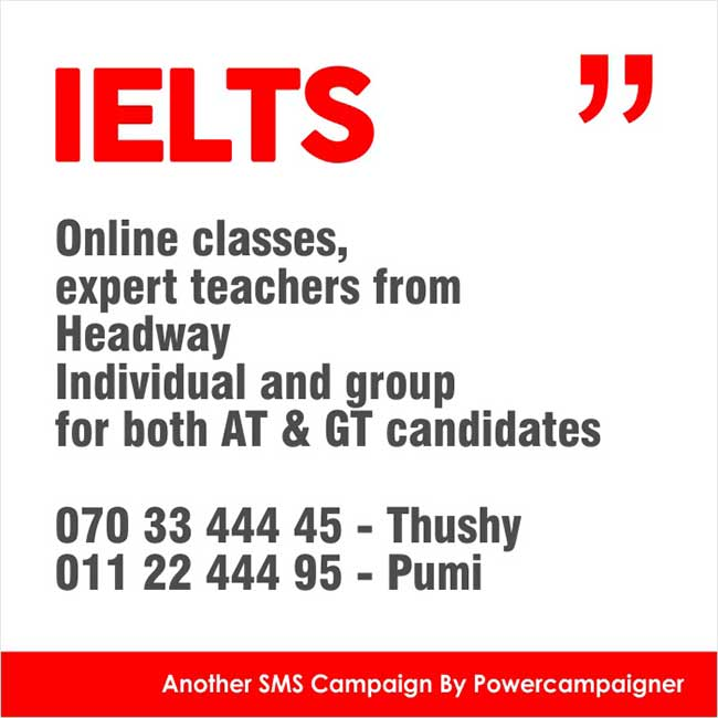 IELTS online classes, expert teachers from Headway