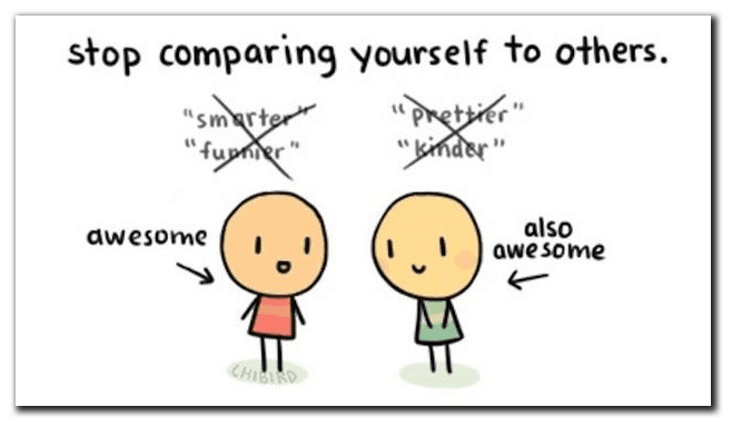stop comparing life