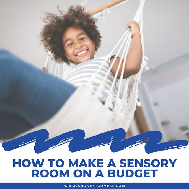 How to make a sensory room on a budget