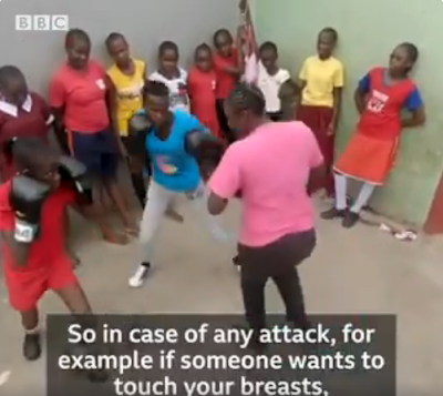 Girls In Kenya Take Up Boxing To Defend Themselves Against Sexual Assault