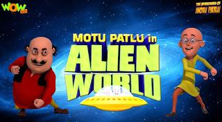 Alien World - Movie - Motu Patlu 300MB