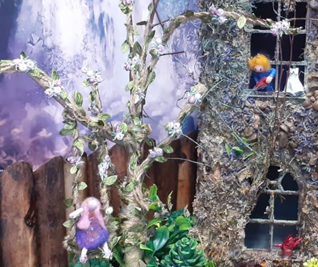 dolls house conversion to fairy house