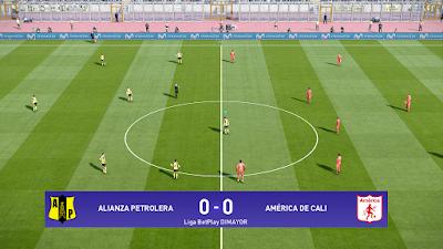 PES 2021 Scoreboard Liga BetPlay Dimayor by Ryudek & Milos987