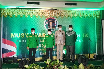Ketum Suharso Hadiri Pembukaan Muswil PPP Aceh