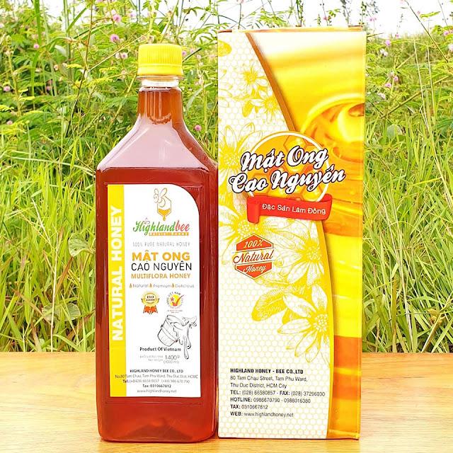 Bảng giá mật ong rừng nguyên chất Highlandbee uy tín chất lượng ngon nhất Việt Nam
