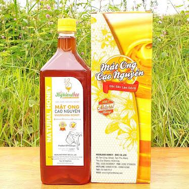 Bảng giá mật ong thật nguyên chất Cao Nguyên Highlandbee (hàng chính hãng) uy tín chất lượng hàng đầu Việt Nam