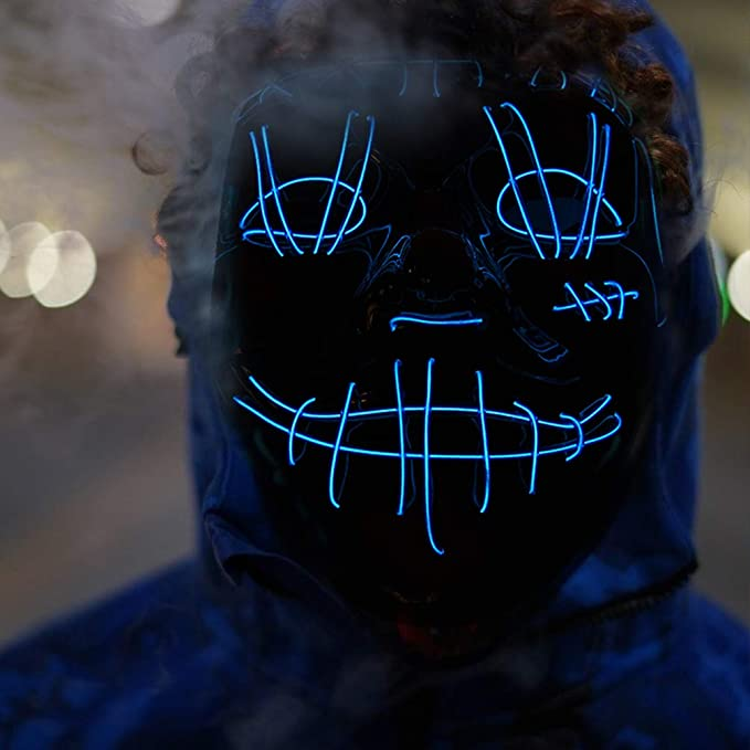 40%off Halloween Light Up Mask