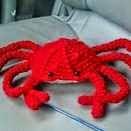 Cangrejo, Crab, Amigurumi
