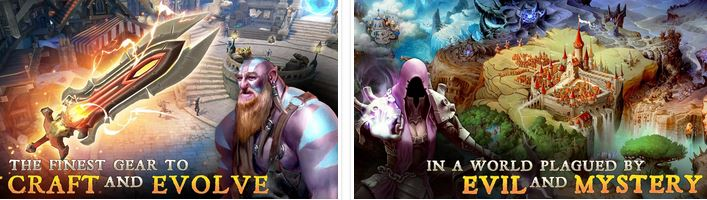 Dungeon Hunter 5 v1.2.0n (Mega Mod) APK DATA