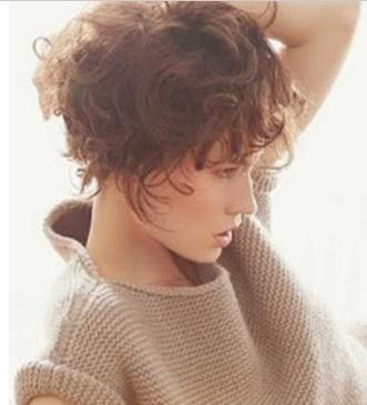 aqu las mejores imgenes de cortes de pelo corto con rizos para mujeres como fuente de inspiracin with corte de pelo corto rizado mujer