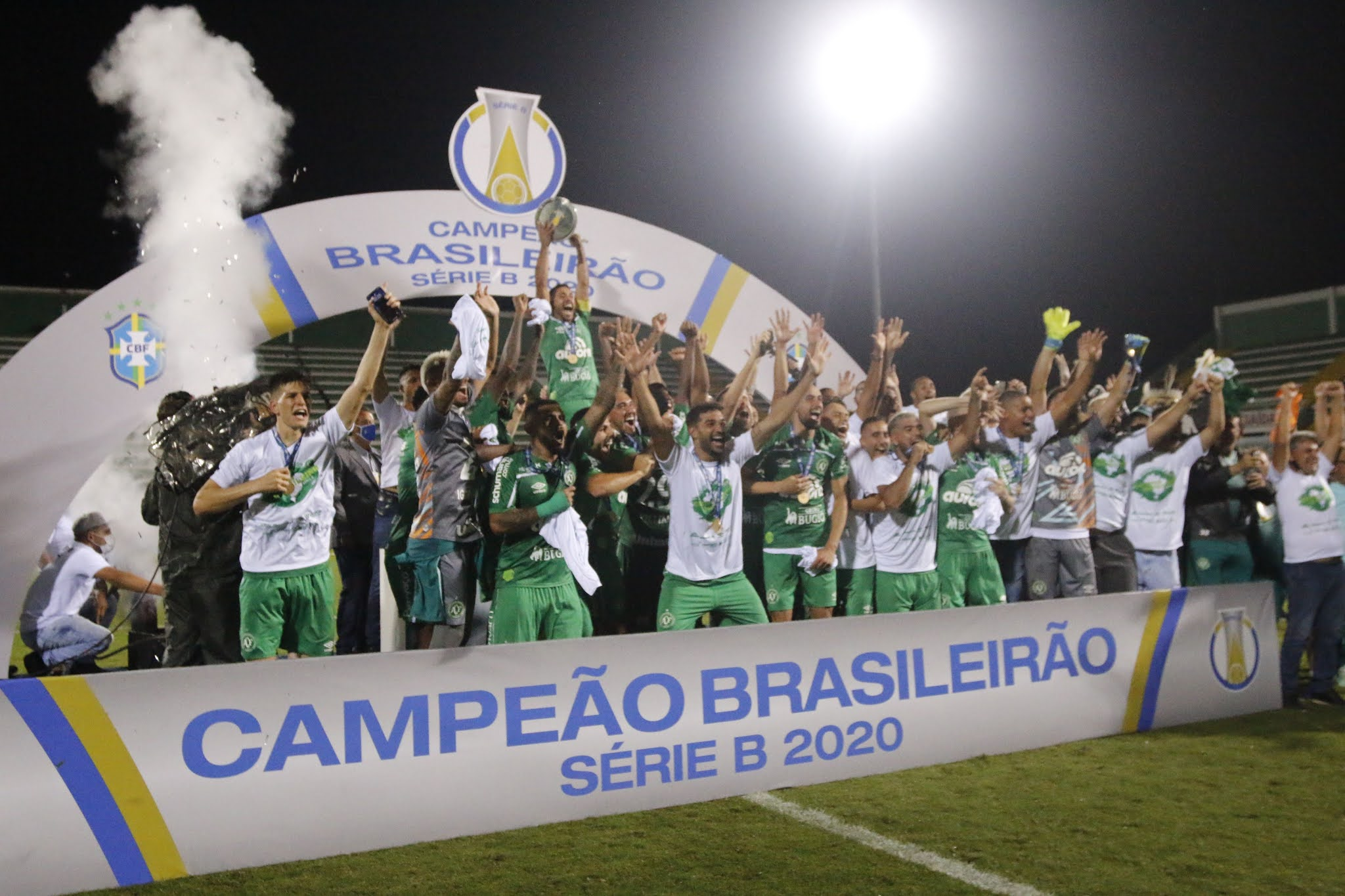Chapecoense es campeón en Segunda División y retornó al fútbol grande de Brasil