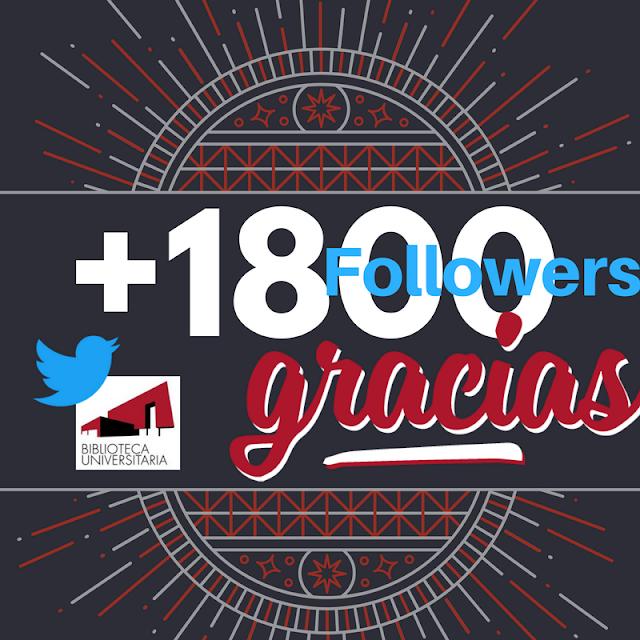 ¡Vamos a por los 2000 seguidores!