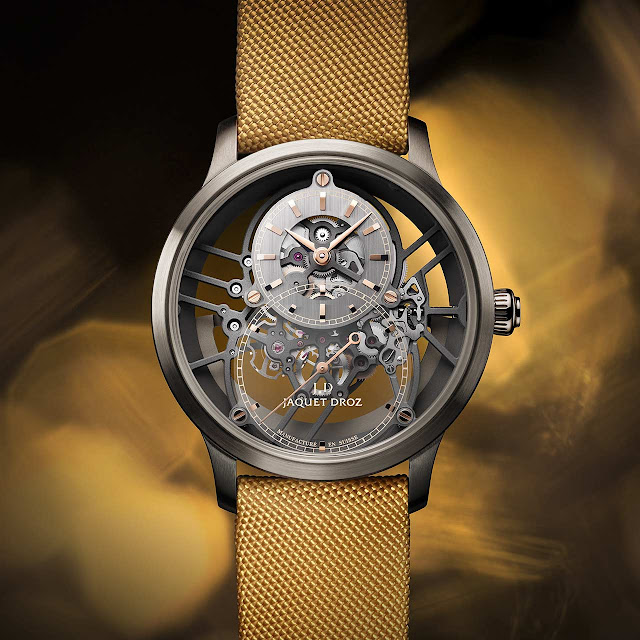 Jaquet Droz Grande Seconde Skelet-One Yellow (ref. J003525547)