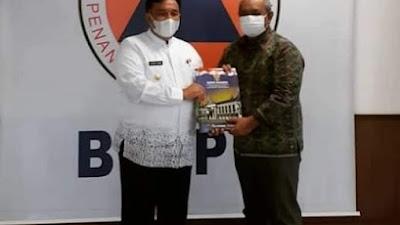 Bupati Pasaman Jemput Bola ke BNPB Pusat Guna Percepatan Pembangunan