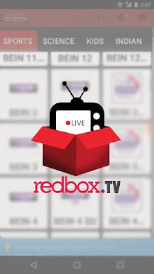 تحميل تطبيق RedBox TV apk, تحميل برنامج RedBox TV للايفون, تحميل برنامج RedBox TV للكمبيوتر, TV Box APK, Live Net TV, تنزيل برنامج لمشاهدة القنوات الم
