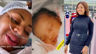 Actors Guild Of Nigeria Named Regina Daniels Baby Nollywood Baby Of The Year