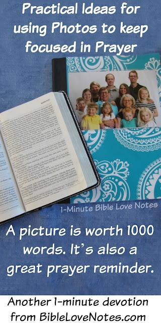 Prayers & Photos- Using Photographs as Prayer Reminders