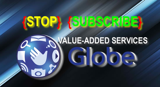 List of Codes to Subscribe or STOP Globe Value Added Services or Subscription 2018