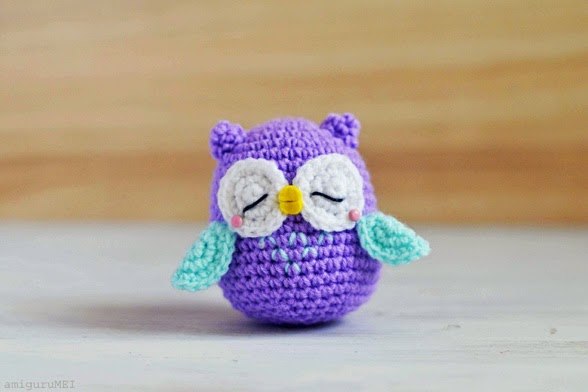 Free Crochet Patterns Owls Owl amigurumi toy patterns