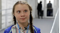 Greta Thunberg (Credit: Reuters) Click to Enlarge.