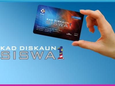 1Malaysia Student Discount Card (Kad Diskaun Siswa 1Malaysia or KADS1M)