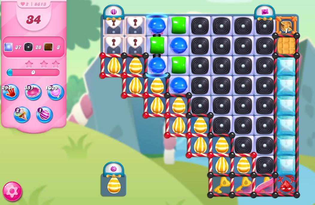 Candy Crush Saga level 8613