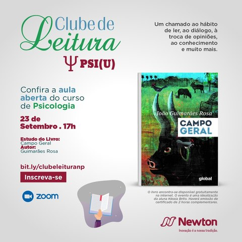 Centro Universitário Newton Paiva realiza encontros virtuais abertos ao público