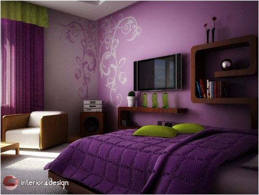 Unique Paints For Bedrooms 5