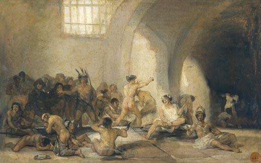 El Manicomio – Francisco de Goya